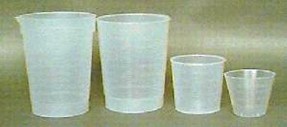 Plastic Mixing And Measuring Cups 2oz Sleve Of 25 Ebay