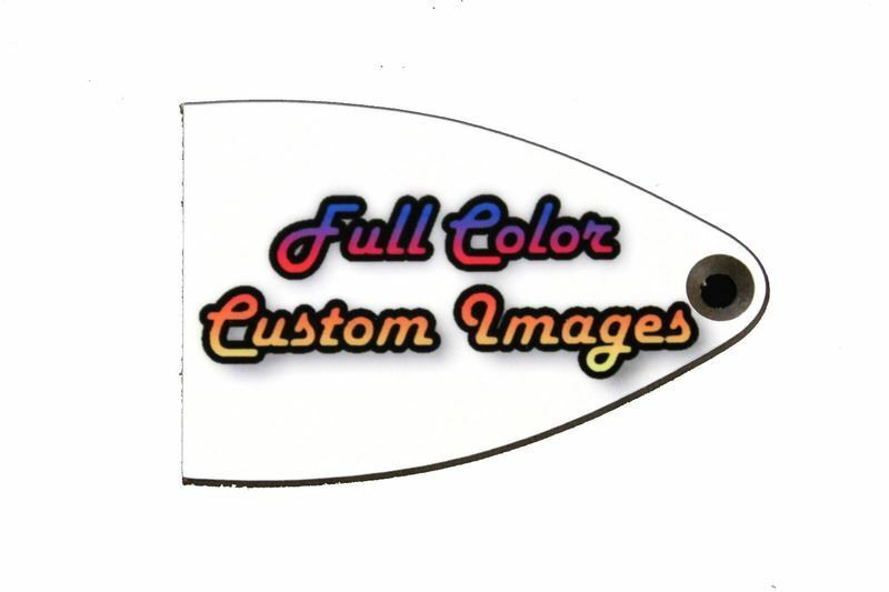 custom personalized truss rod cover w picture or logo for import prs se guitars ebay. Black Bedroom Furniture Sets. Home Design Ideas