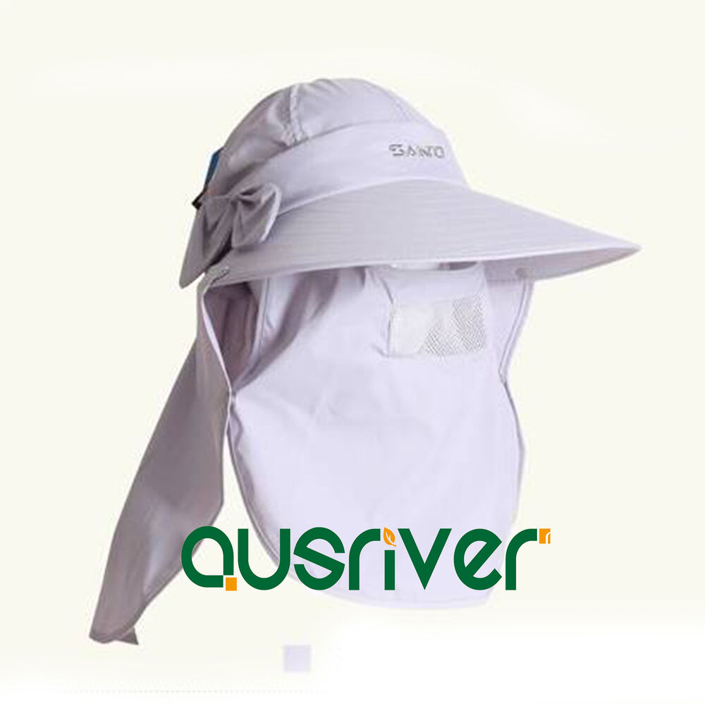 Unisex jungle fishing hat cap face protector neck cover for Fishing neck cover