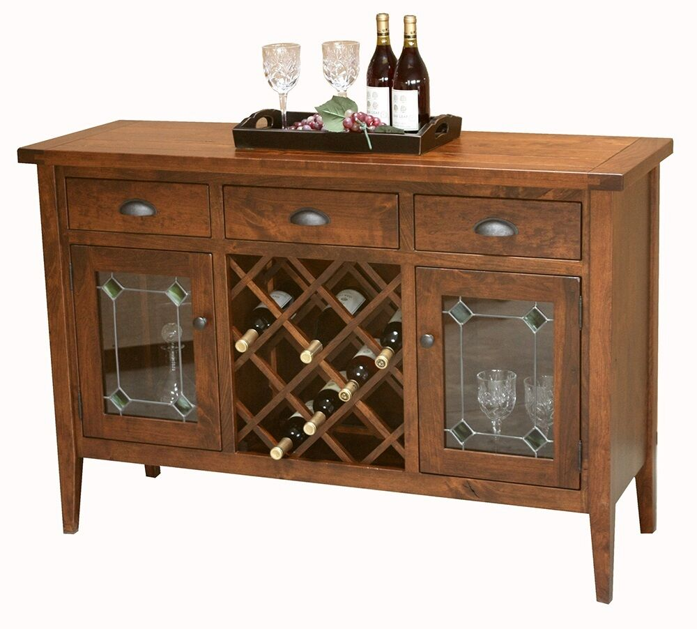Amish Jacoby Rustic Shaker Plank Wine Server Sideboard  : s l1000 from www.ebay.com size 1000 x 902 jpeg 95kB