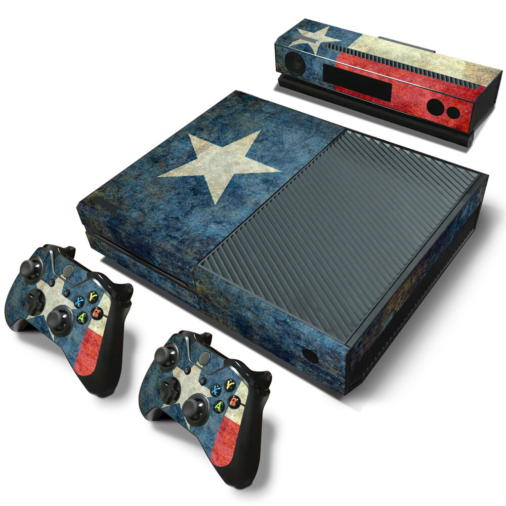 XBox One Console and Controller Skins -- Texas Flag (#1218 ... Xbox One Skins Ebay