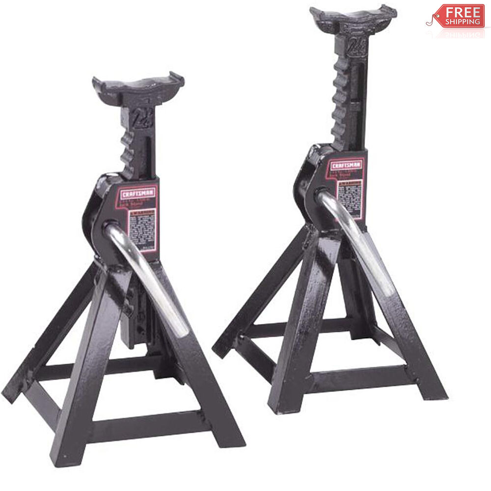 Craftsman 2 1 4 Ton Jack Stands 2 Pk Lifting Mechanics