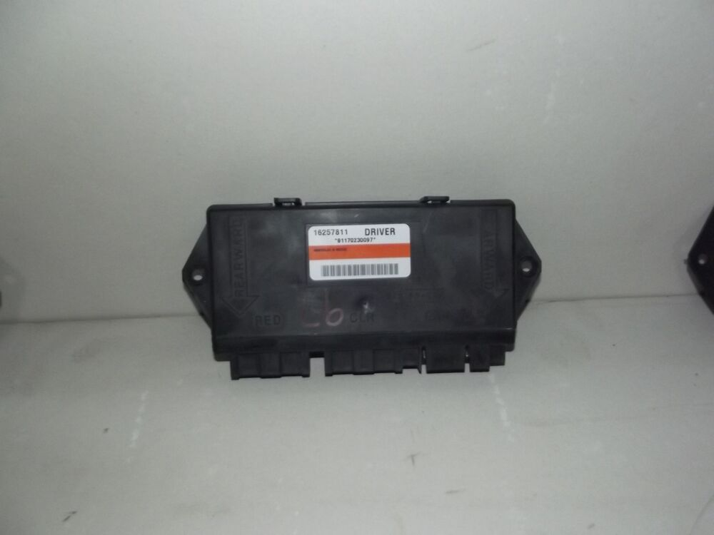 97 99 corvette c5 lh door control module 16257811 ebay for 01333 door control module