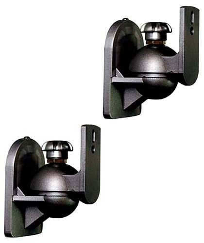 2 Pack Adjustable Surround Sound Satellite Speaker