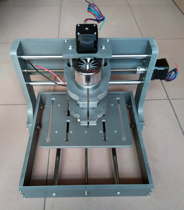 Hobby 3 axis diy cnc router kit 2020b mini mill pcb for Diy router
