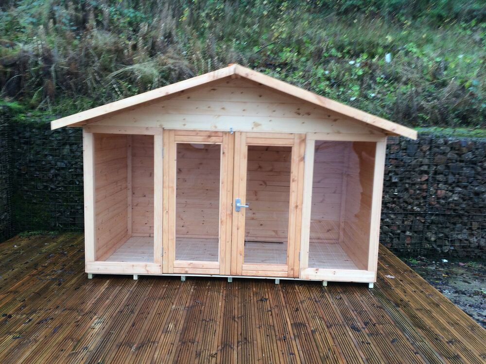 8x5 kiddies the chester summerhouse playhouse shed ebay for Garden shed 8x5