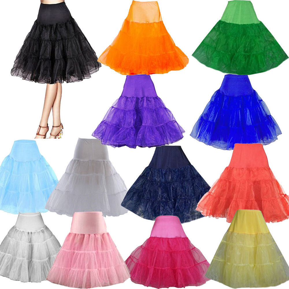 Unique Vintage Wedding Evening Party Crinoline Underskirts