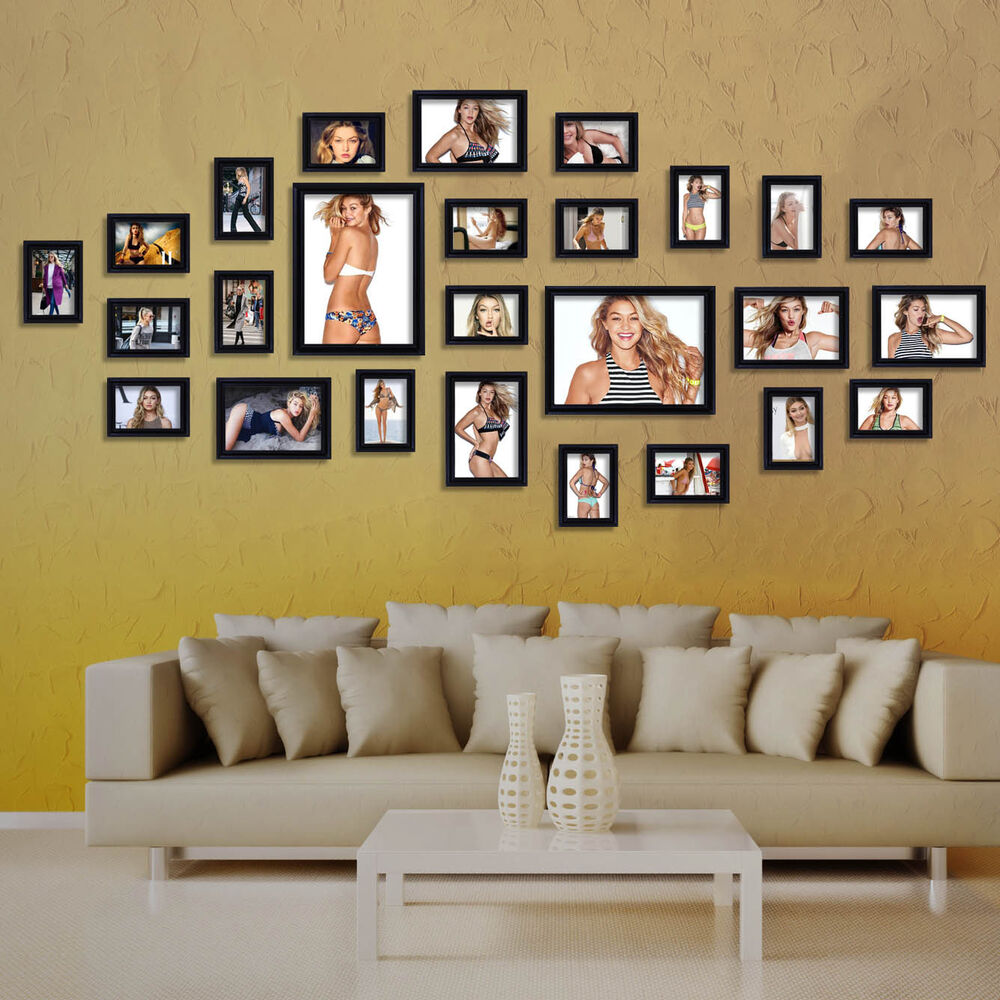 modern office art us 17pcs black photo picture frame set office home wall hanging art modern best office art