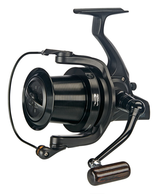 Tf gear new dl black edition big pit fishing reel ebay for Ebay fishing gear