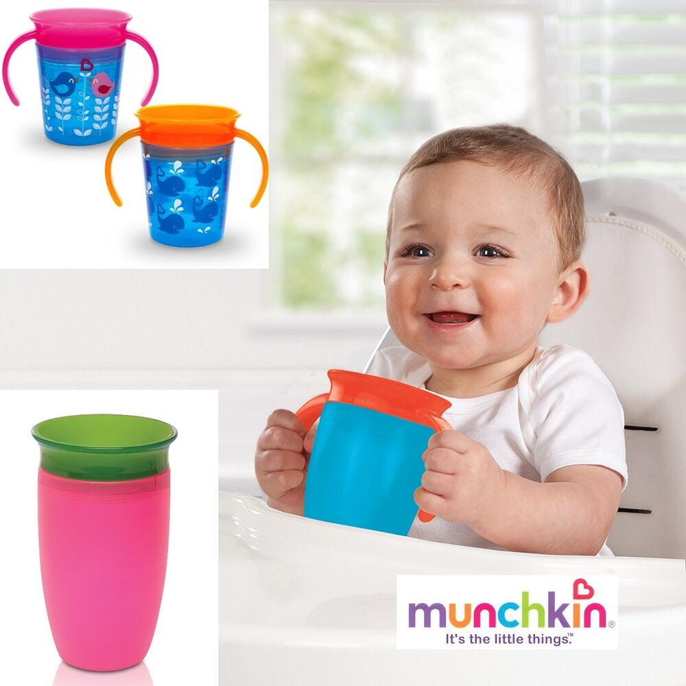 Munchkin Miracle 360 176 Sippy Cup No Spill Training Cup