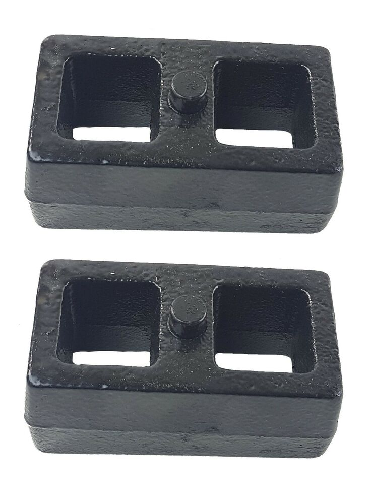lowering blocks 2 u0026quot  cast steel pair for rear axle 1985