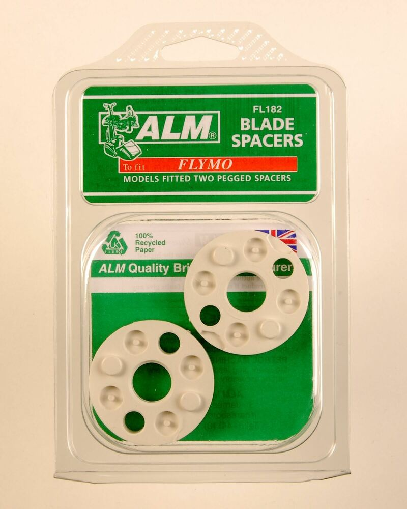 alm flymo turbo lite micro compact blade spacers fl182 ebay. Black Bedroom Furniture Sets. Home Design Ideas