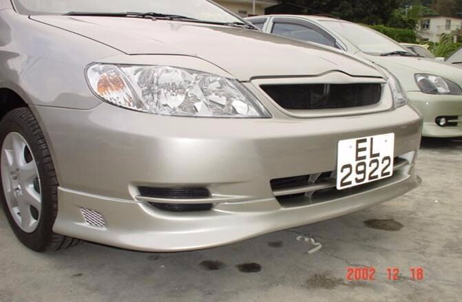 Headlight Eyebrows Eyelids Covers For 2002 2007 Toyota