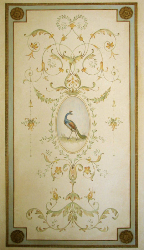 Elegant Wall Decor For Living Room: Versailles Grand Panel Wall Stencil