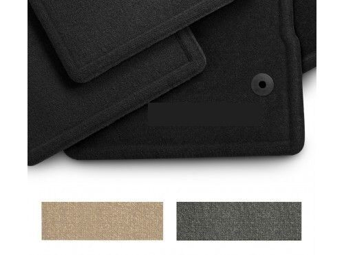 Ford 2015 2016 F 150 Floor Mats 4 Piece Set Black Carpet