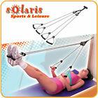 Door Pulley Rope Exerciser Body Shaper for Pilates Workout and Full Body Toning