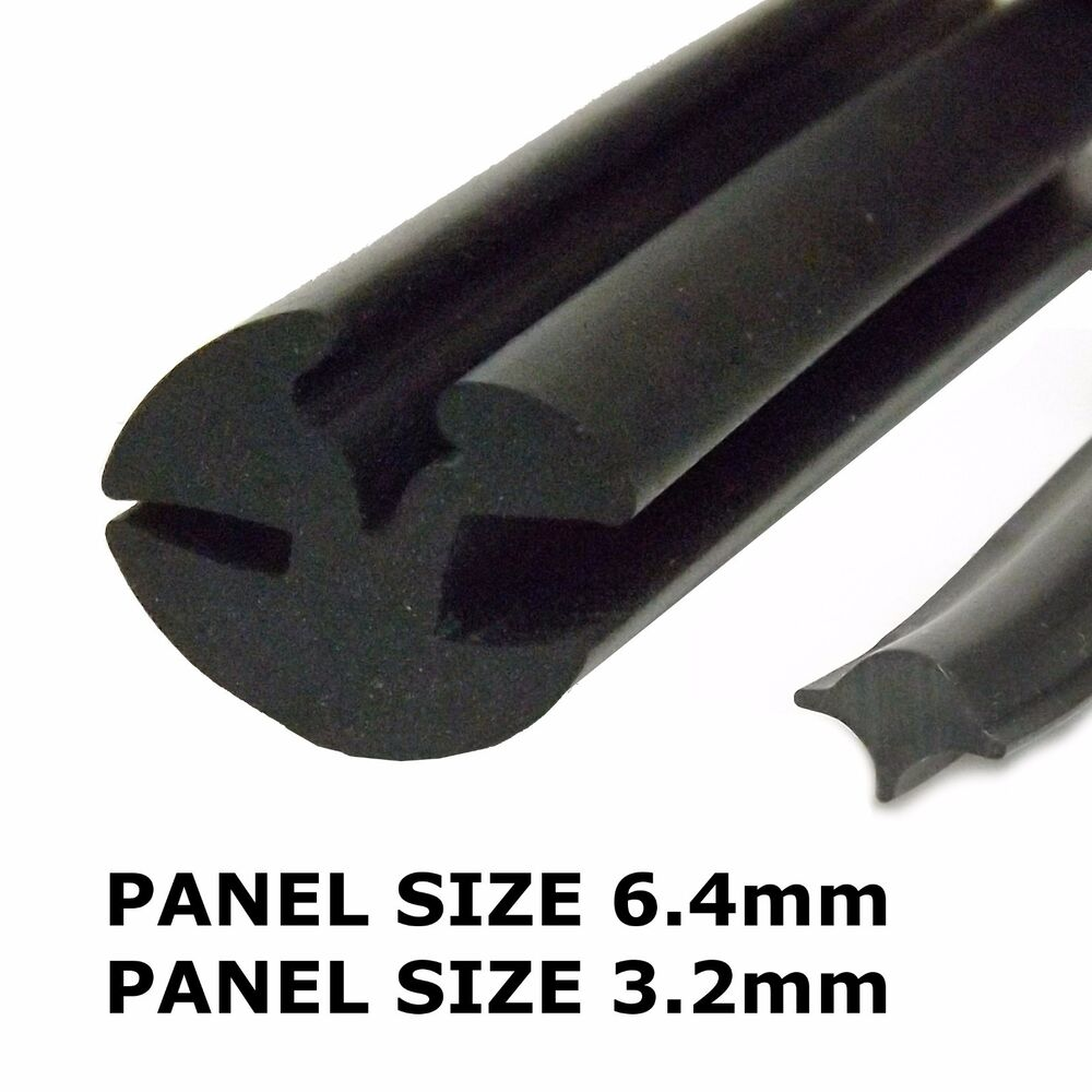 Window Rubber Seals For Autos : Rubber window seal claytonrite mm with filler