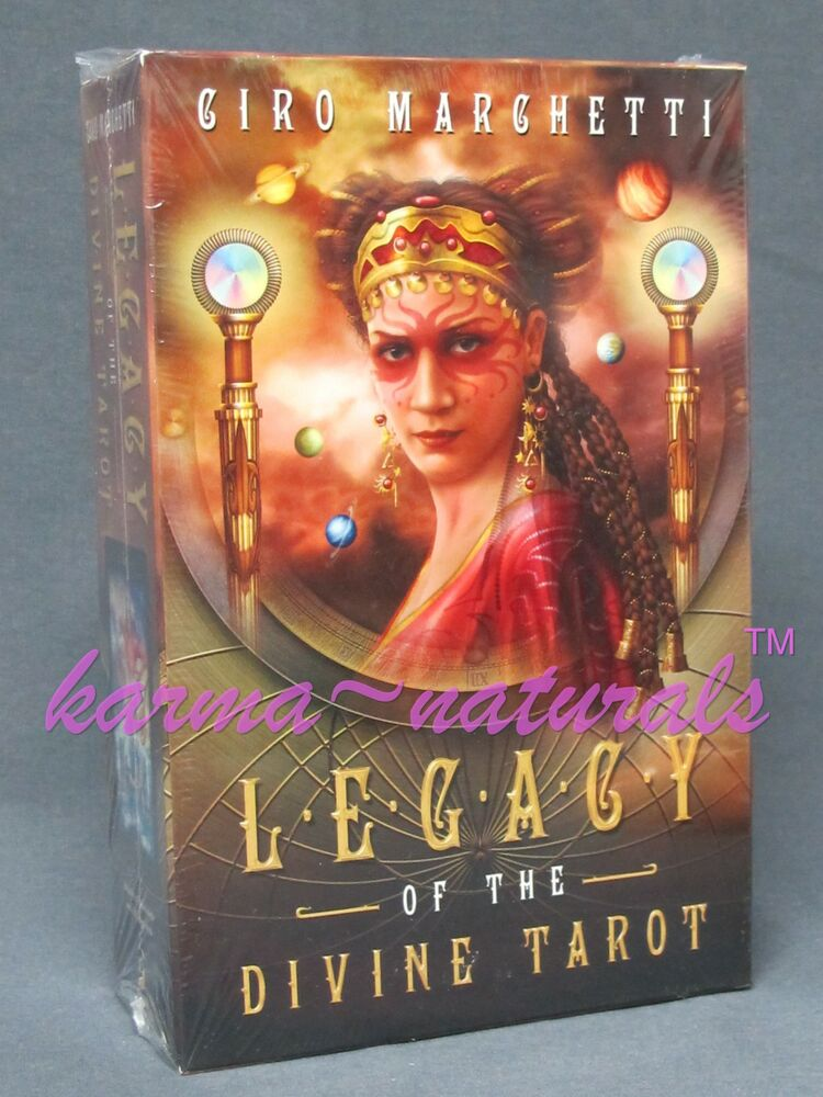 LEGACY Of The DIVINE TAROT Card Deck & Book Set
