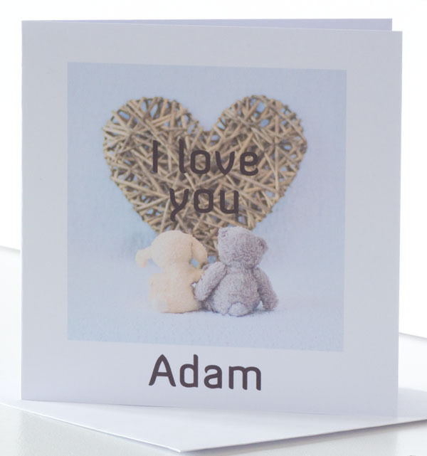 Details About Personalised Cute Birthday Card Husband Wife Fiancee Girlfriend Boyfriend