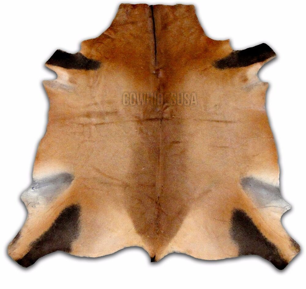 African Hartebeest Antelope Cheap Cowhide Rug Large Goat
