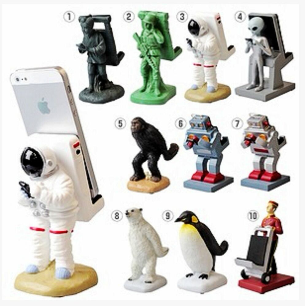 Magnetic Cell Phone Mount >> Astronaut Spaceman Animal Porter Cute Funny Mobile Phone ...