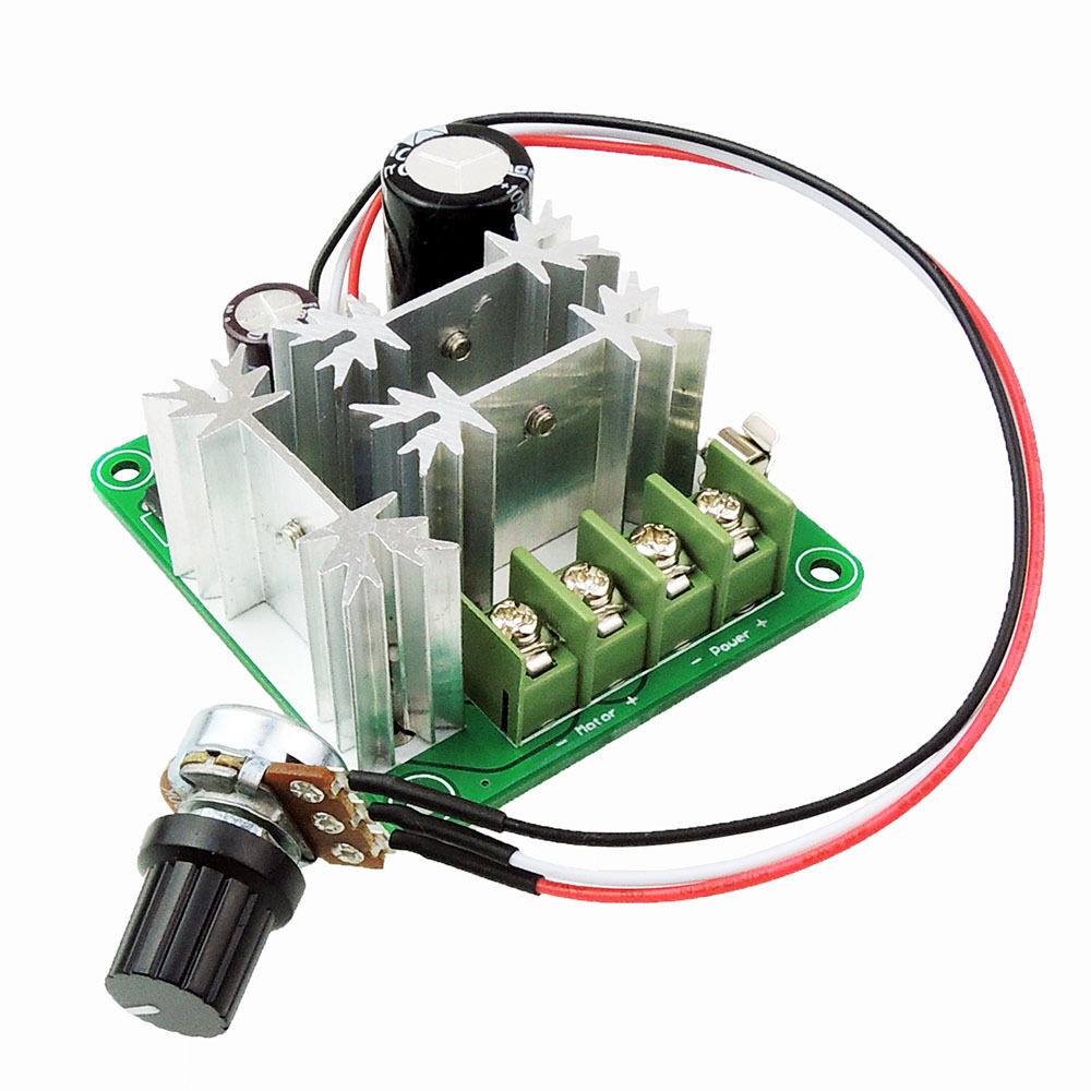 Dc motor speed controller pwm speed adjustable regulator for Speed control electric motor