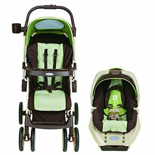 graco alano baby travel system convertible stroller car seat sweet pea ebay. Black Bedroom Furniture Sets. Home Design Ideas
