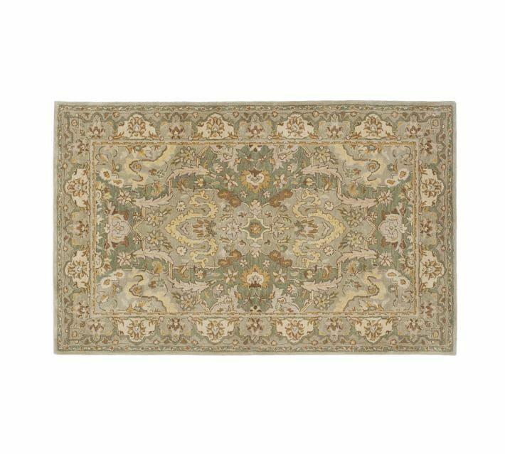 Pottery Barn Thyme Persian Style Rug 5 X 8 Brand New Tags