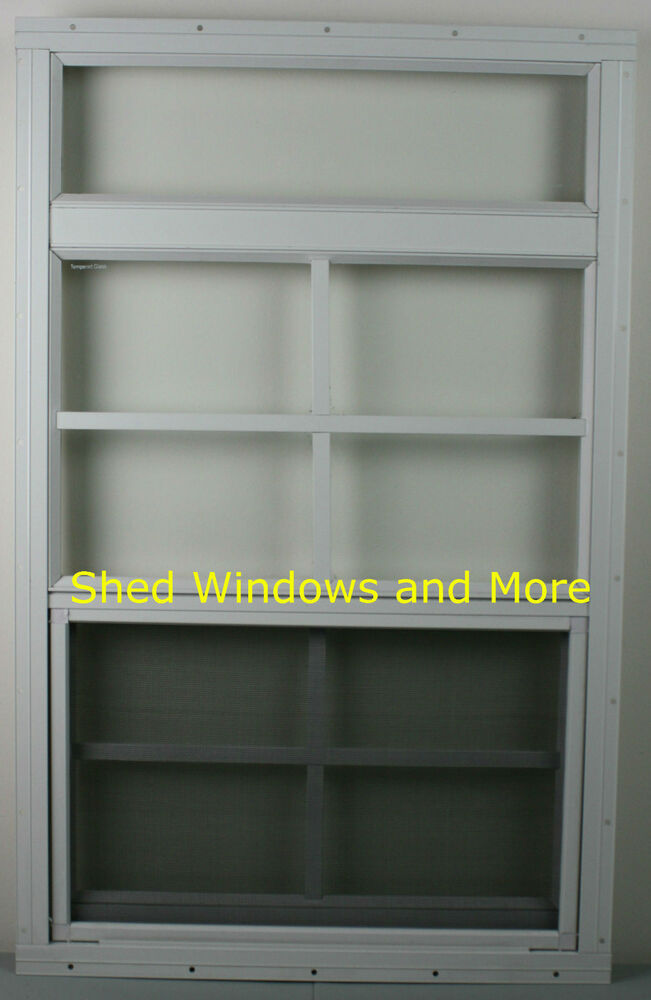 playhouse window 12 x 24 white flush shed window shed