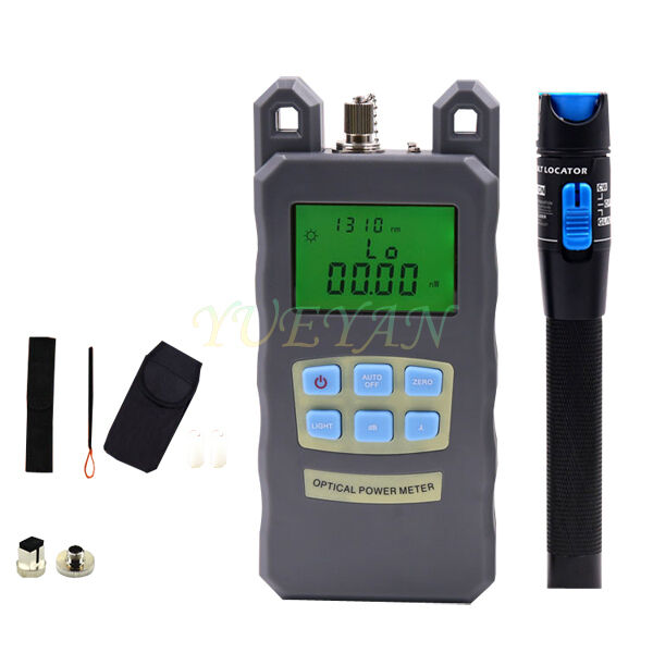 Optical Ports For Meters : Fiber optical power meter mv visual fault locator