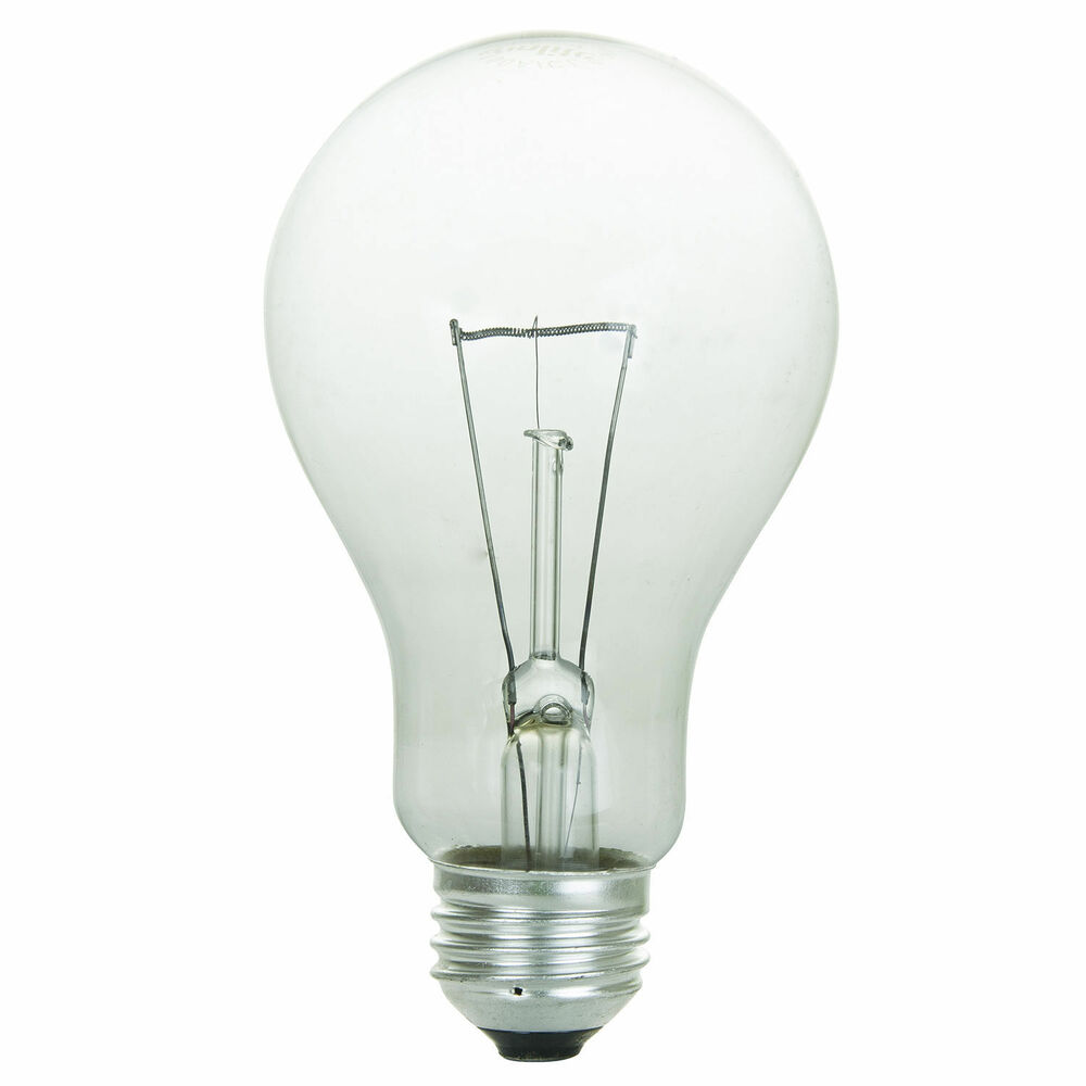 Sunlite incandescent 150 watt a21 high wattage 1750 lumens light bulb ebay Light bulb wattage