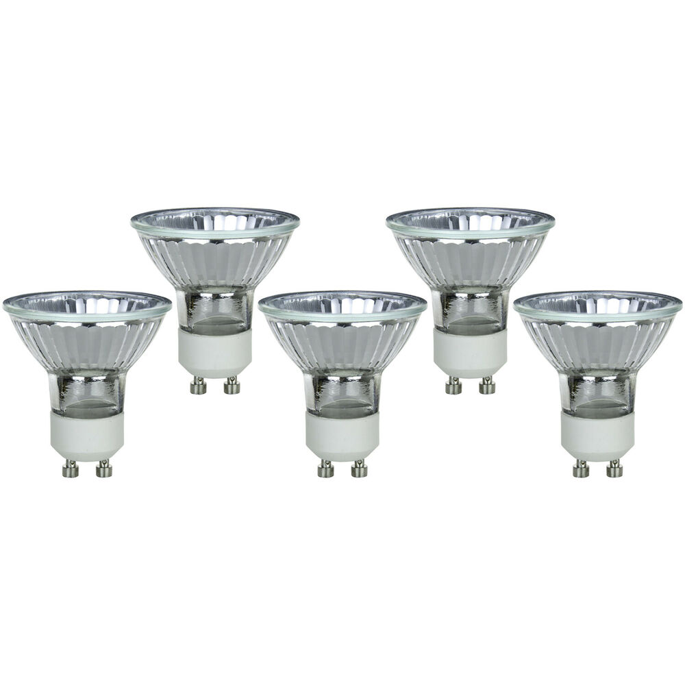5 pack 20 watt halogen mr16 mini flood reflector gu10 base for Where to buy halogen bulbs