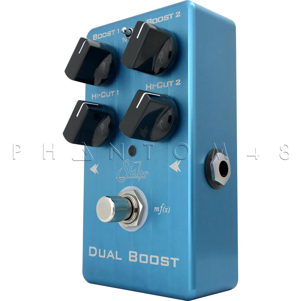 suhr guitars dual boost clean dynamic guitar booster effects pedal brand new ebay. Black Bedroom Furniture Sets. Home Design Ideas