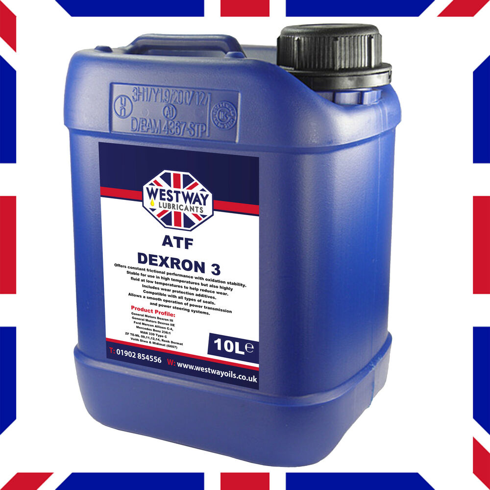 atf dexron iii 10 litre 10l automatic transmission fluid. Black Bedroom Furniture Sets. Home Design Ideas