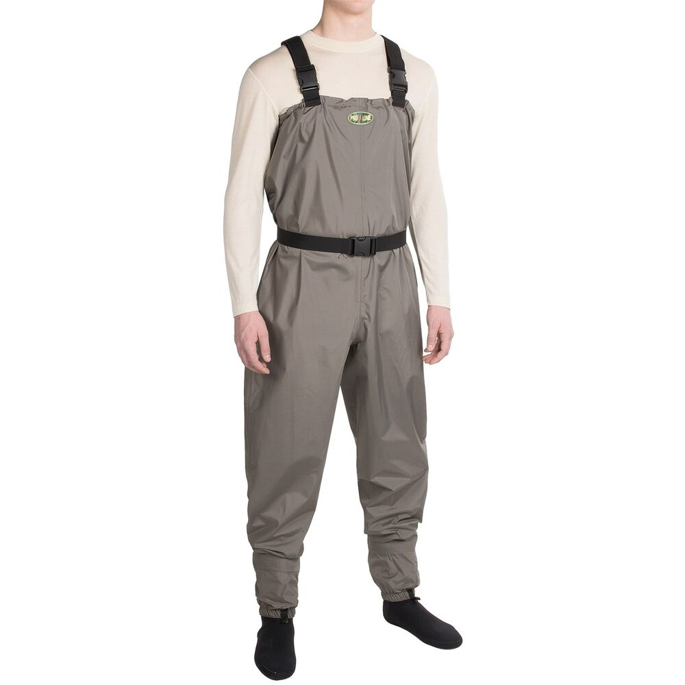 Pro line carrington breathable fly fishing chest waders for Fly fishing waders