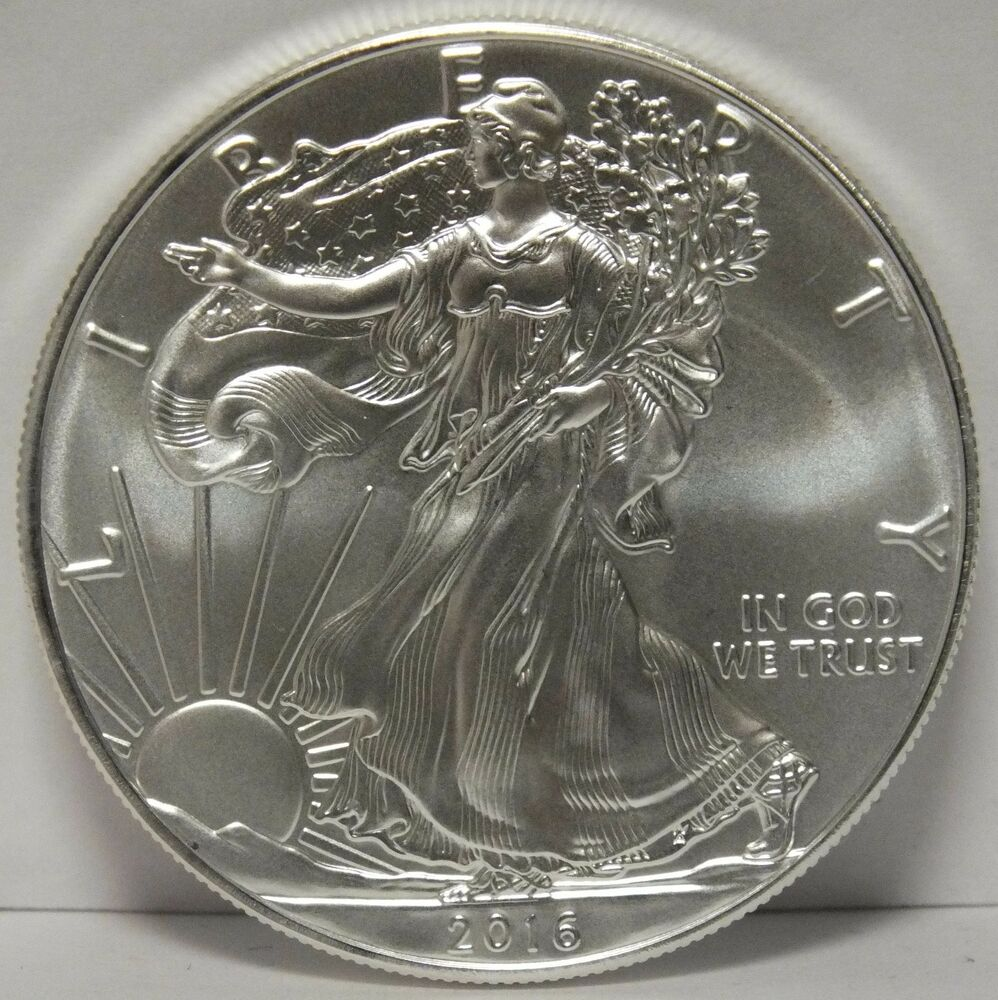 2016 American Eagle Silver Dollar 1 Oz Bullion Coin