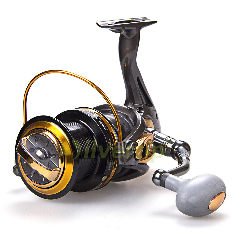 big game spinning fishing reel 12 1 bb yomores tf 8000