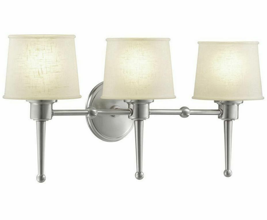 Hampton Bay HB472657DI Architect Brushed Nickel 3-light