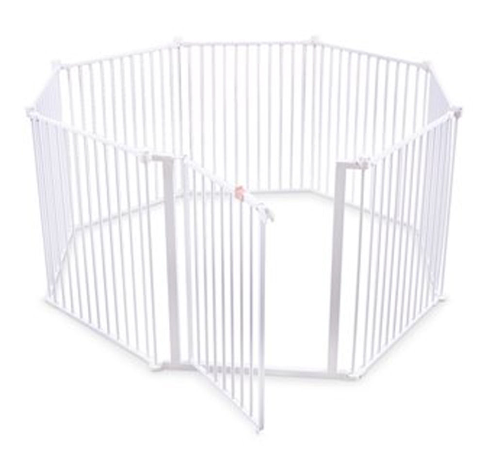 Regalo Play Yard White Metal 192 Inch Super Wide Baby