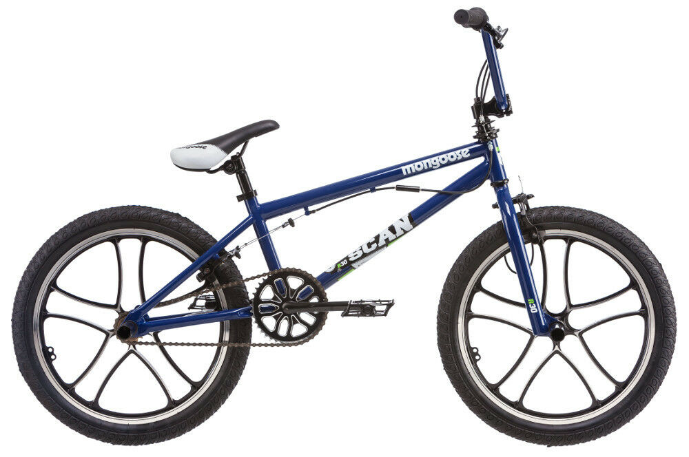 20 in Mongoose Boy's BMX Freestyle Bike Scan R30, Blue | eBay