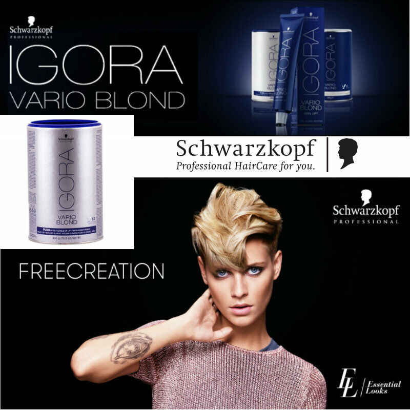Schwarzkopf Igora Vario Blond Plus 450g Hair Colour Dye