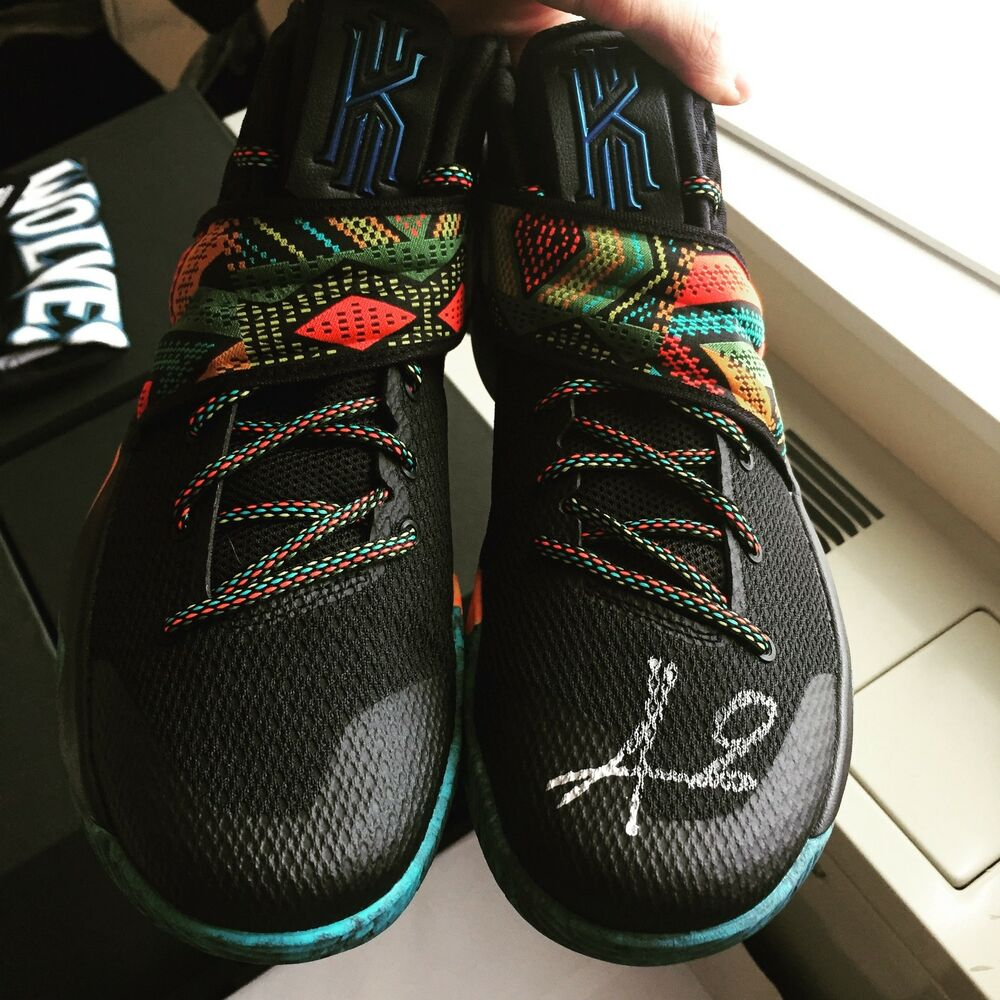 what size shoe does kyrie irving wear