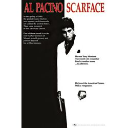 Kyпить SCARFACE - MOVIE POSTER (THE AMERICAN DREAM - REGULAR STYLE) (SIZE: 24