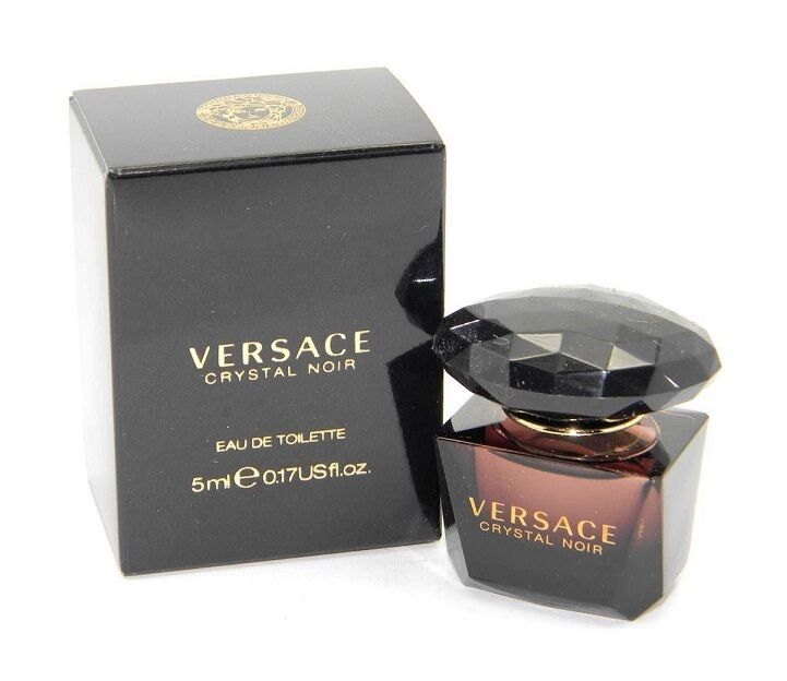 Versace Crystal Noir Women Mini Bottle 0.17 OZ 5 ML Eau De Toilette Splash Nib | eBay