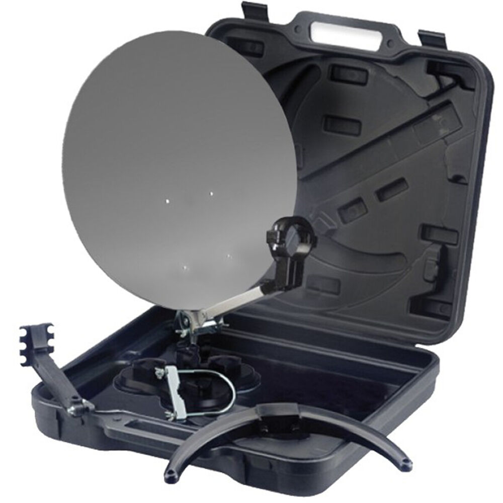 mobile sat satelliten anlage digitale camping tragbar im. Black Bedroom Furniture Sets. Home Design Ideas