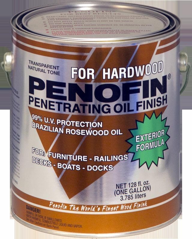 Penofin Exotic Hardwood Penetrating Oil Wood Stain 1
