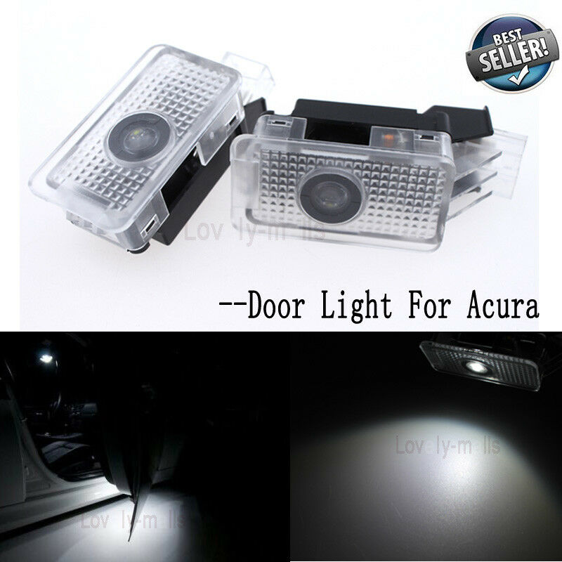 2X LED Courtesy Footwell Side Under Door Light Acura MDX