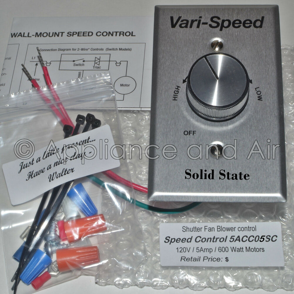 fan speed control 5 amp speed 20 quot 30 quot shutter exhaust fan dayton 28758