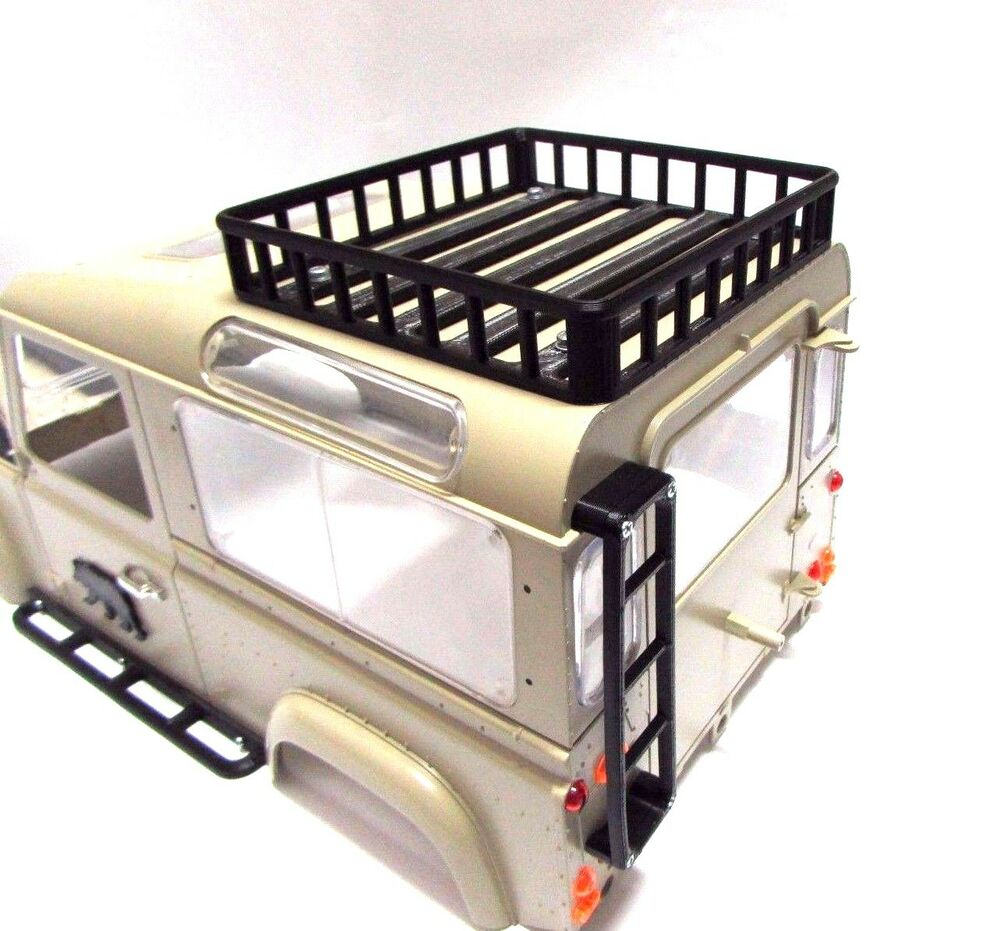 1 10 Scale Roof Rack Ladder For D90 Hard Body Rc Crawler Accessories