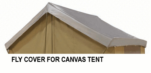 New Custom Fly Cover For Trek 14 39 X 10 39 Canvas Tent Ebay